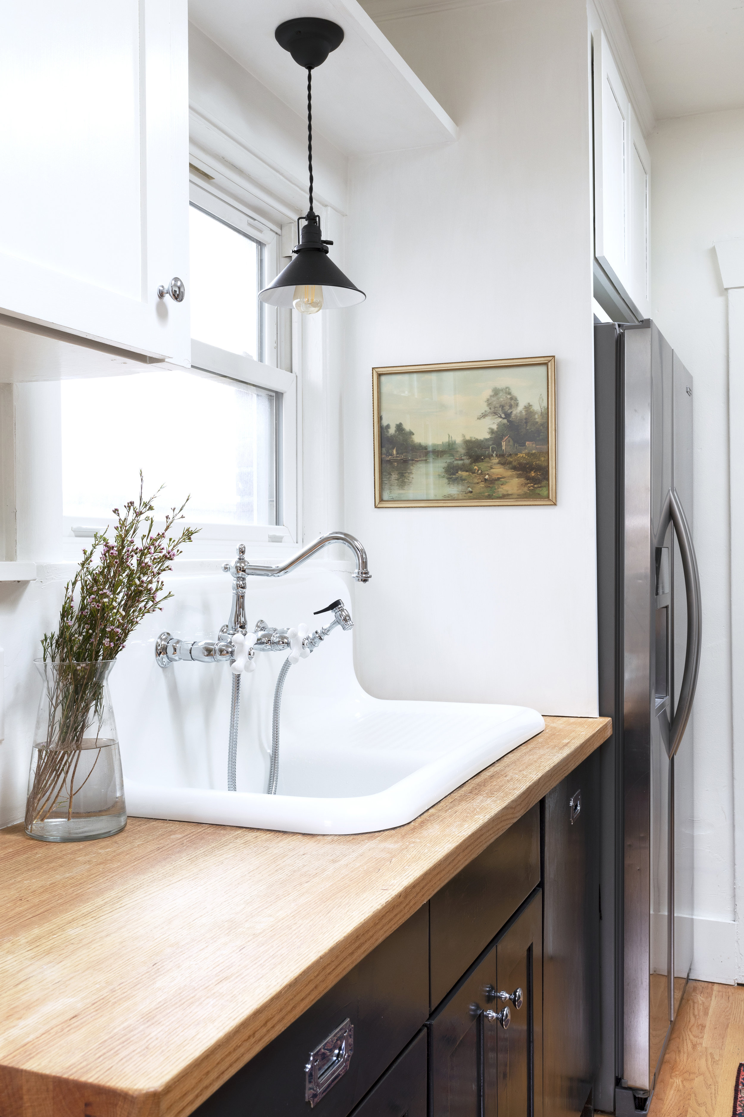 Our Favorite White Paint Color For Kitchens Cabinets The Grit And Polish