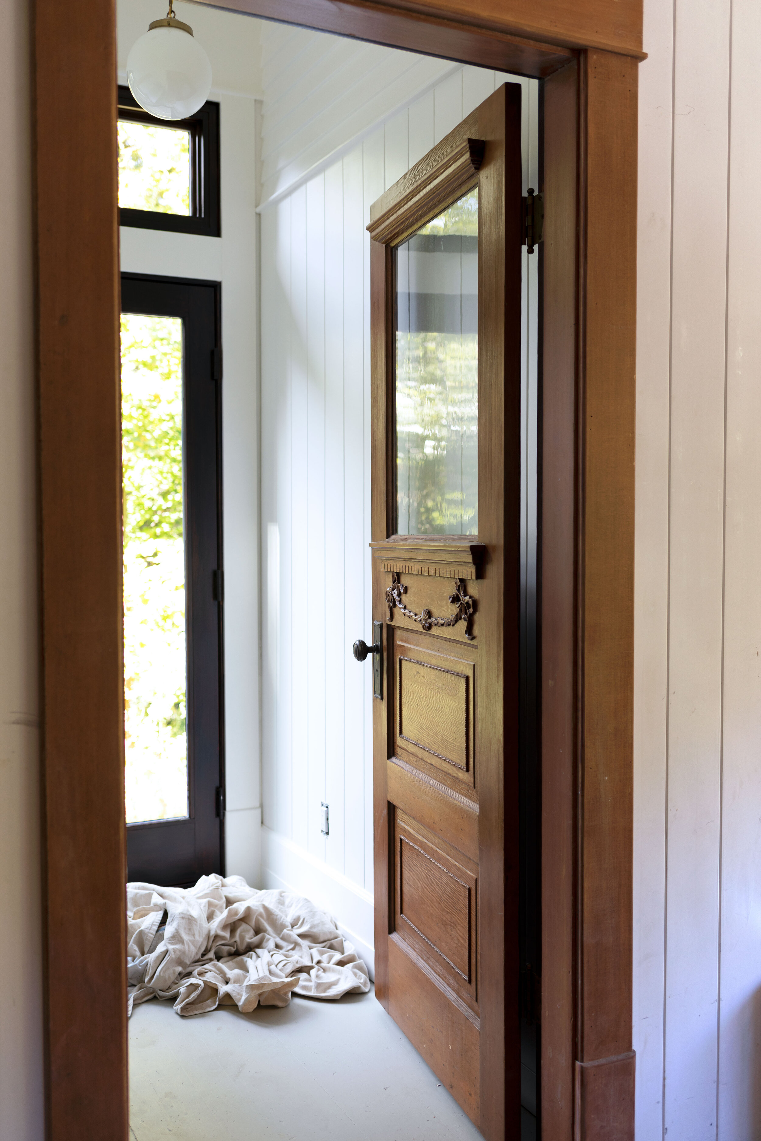 The Grit and Polish - Farmhouse Laundry Room Reno - Vintage Door.jpg