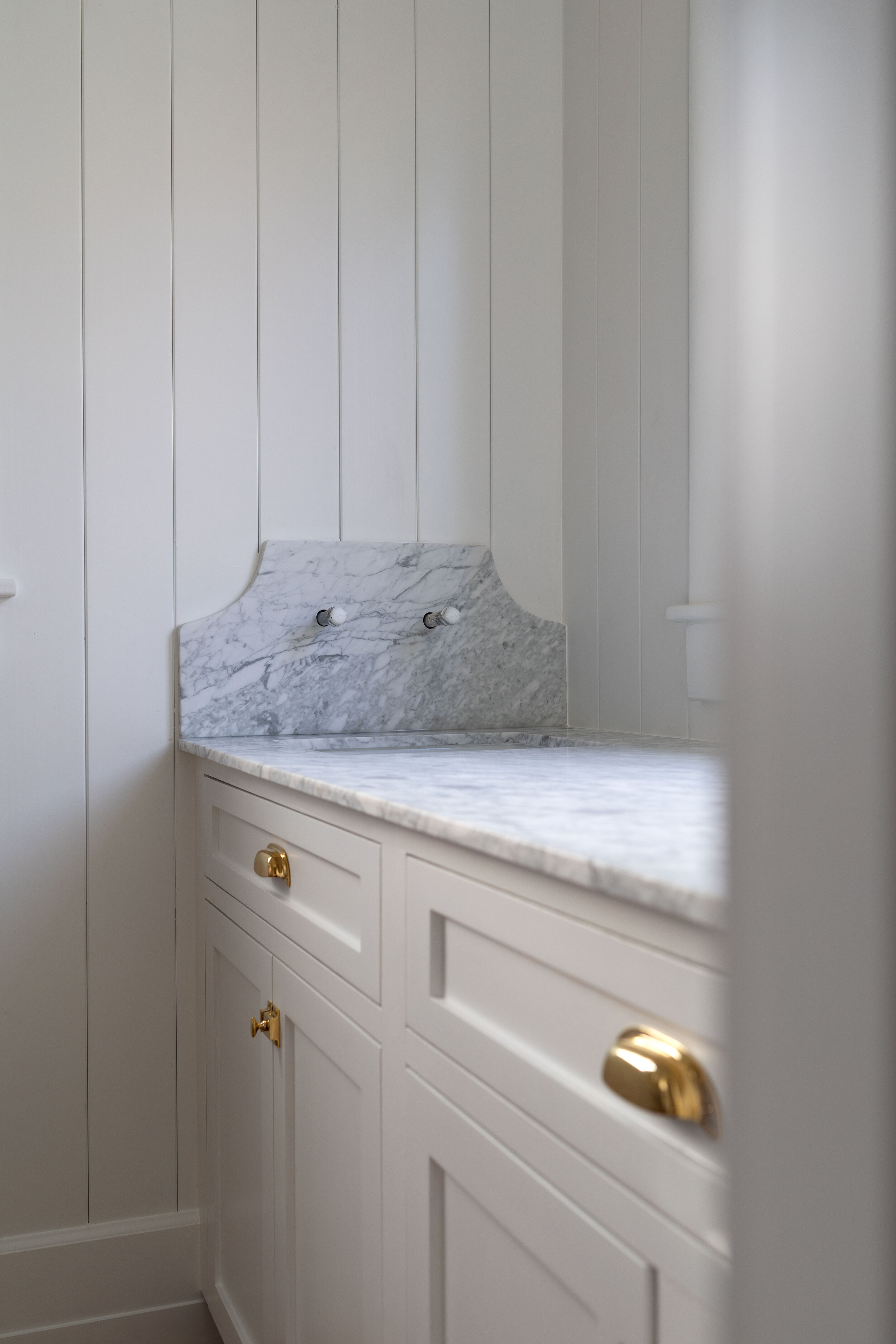 Diy How To Paint Cabinets By Hand An Update On Our Farmhouse Pantry The Grit And Polish