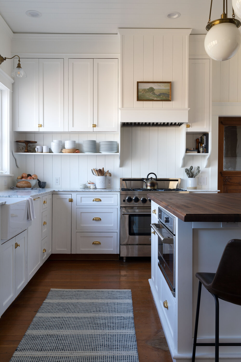 Why We Added A Backsplash To Our Range How The Paneling Is Holding Up The Grit And Polish