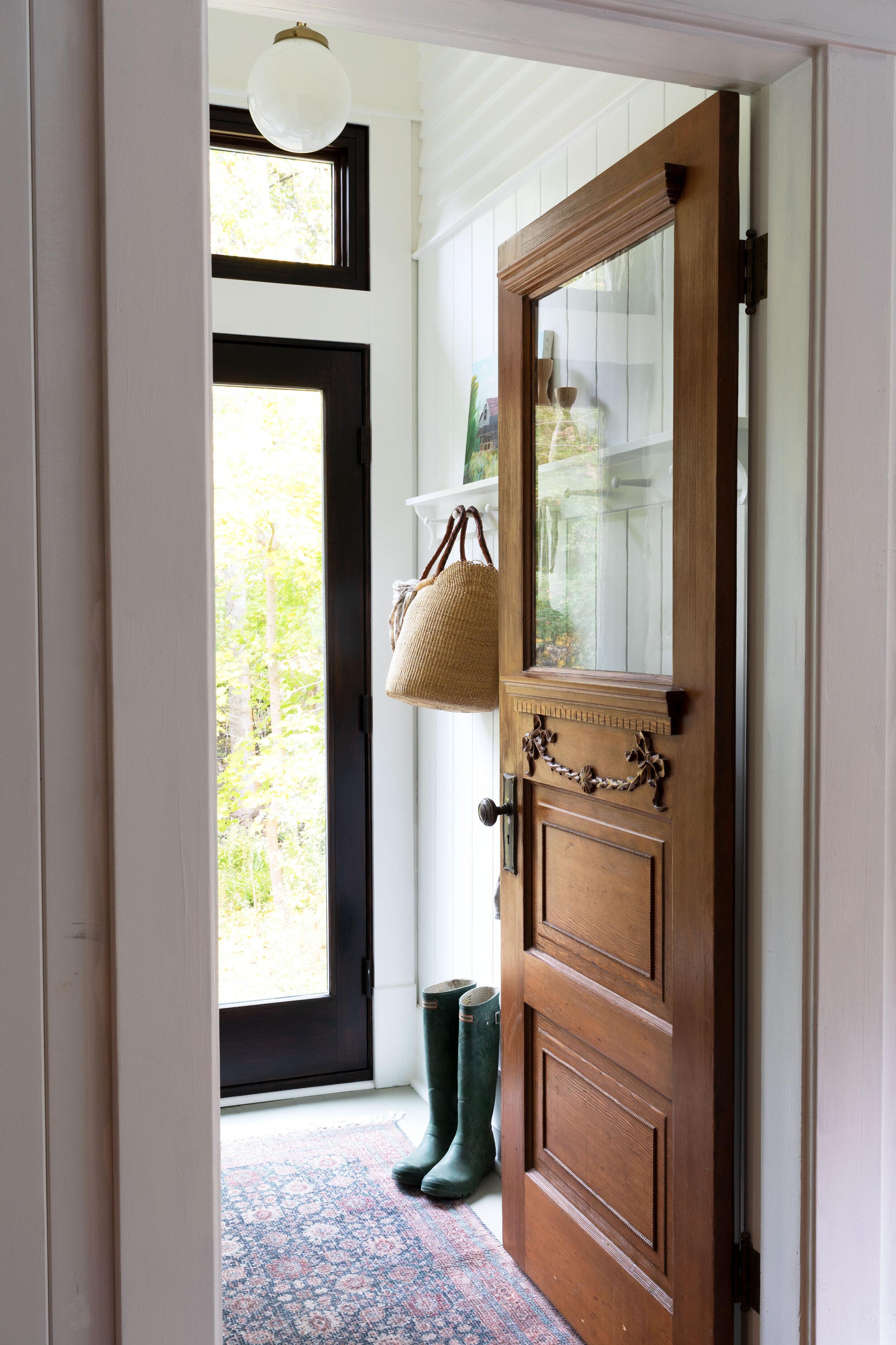 The Grit and Polish - Farmhouse Laundry Room Door.jpg