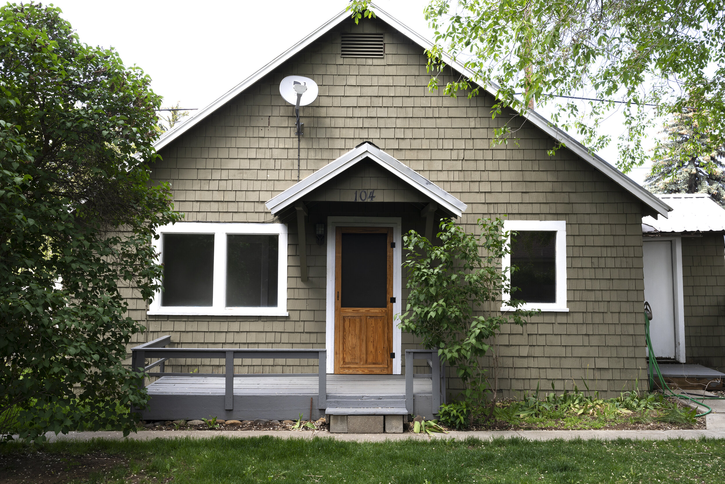 construction update at the Poplar Cottage | the grit and polish