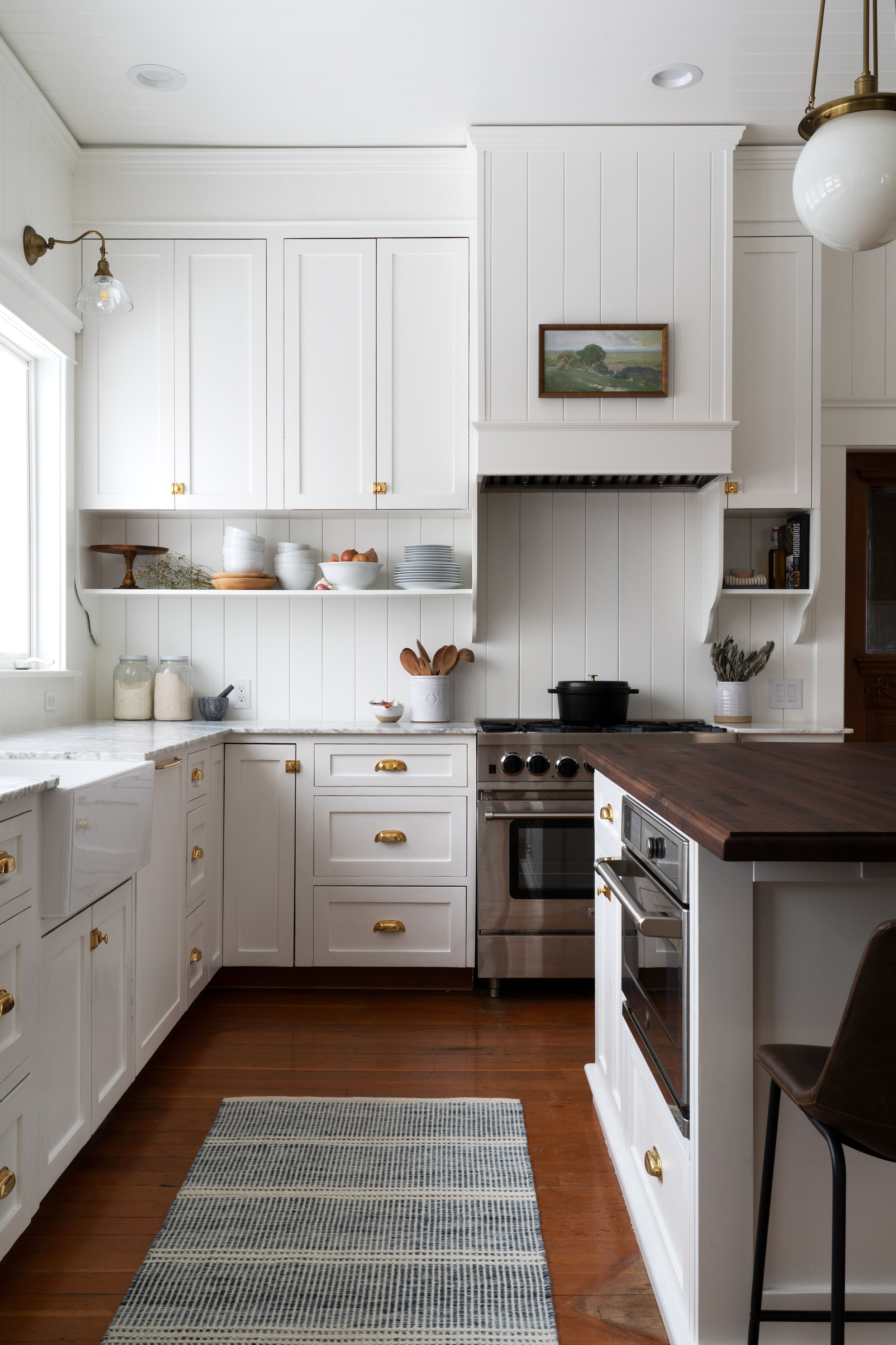 our DIY farmhouse kitchen remodel | www.thegritandpolish.com