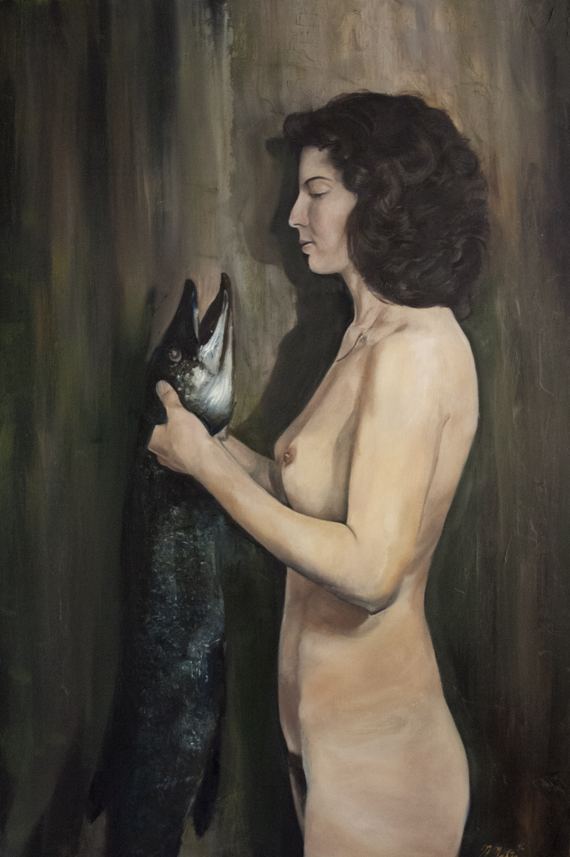 Lady with Fish