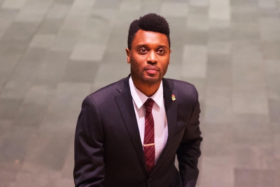 District 4 candidate Shaun Scott