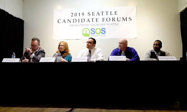District 1 Candidate Forum - Photo: Speak Out Seattle
