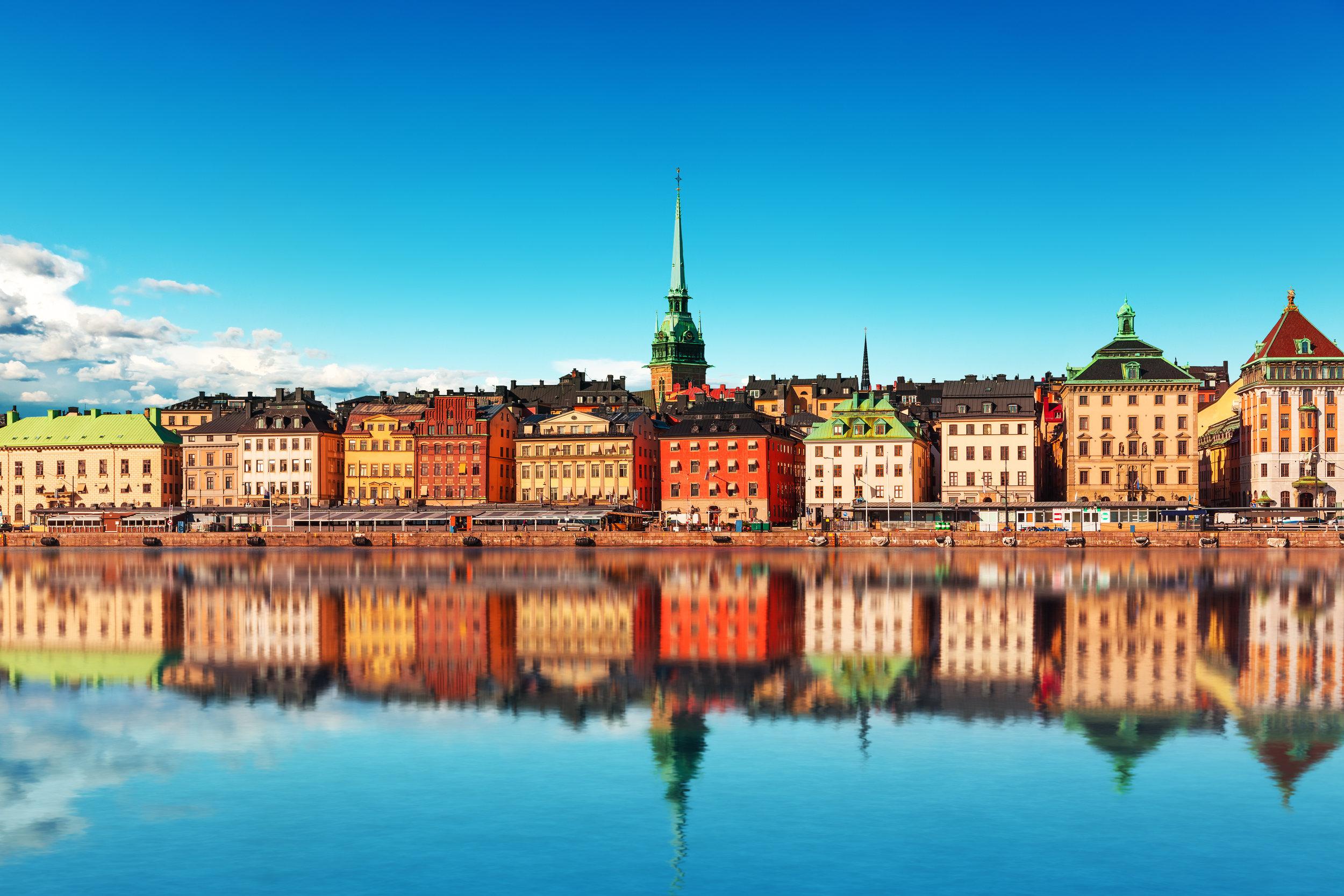 Stockholm … not exactly 'destroyed,' just light on affordable units