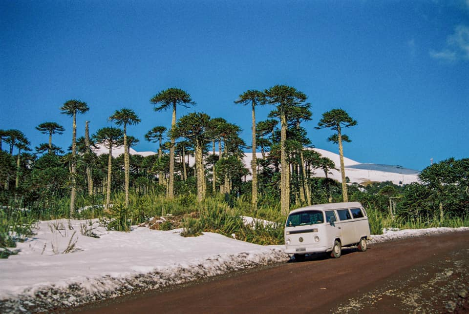 Life in White Adventures Vanlife Volkswagen t2