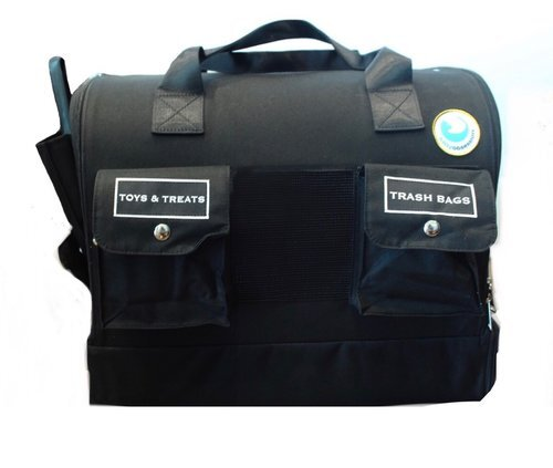 Kitty Obsession Cat Carrier is the most  convenient  cat carrier available. Labeled pockets keep all your cat's essentials organized, and the separate litter box compartment keeps your cat away from the litter box until it is removed.