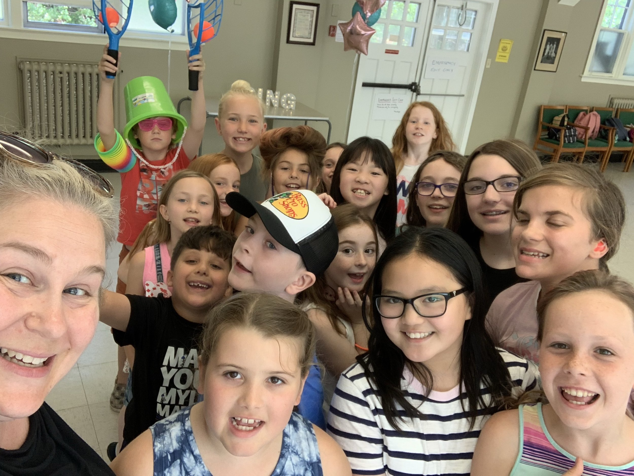 """Nusong Studio's""""sing YOUR song!"""" 2019 campers ~ - These kids blew the roof off the building! and had a great time doing it!"""