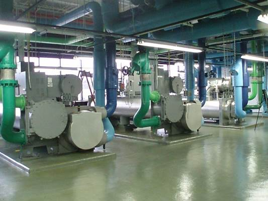 HVAC Mechanical Systems - Chillers (Comfort Cooling)Boiler (Water & Fire Tubes)Piping Systems