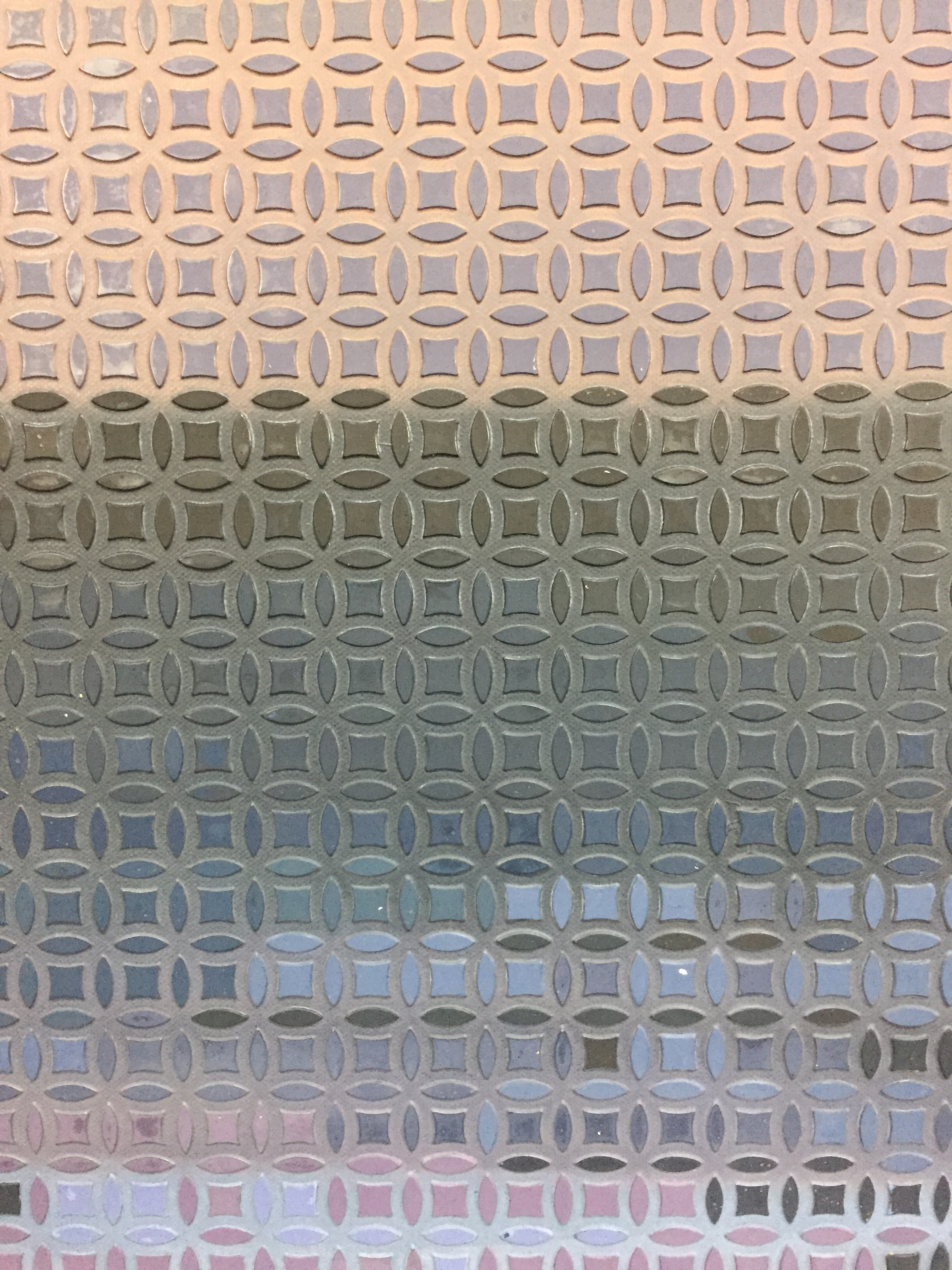 Roger Toledo,  Al Anochecer  ( At Dusk ) (detail), 2018, Acrylic on canvas, 78 3/4 x 118 inches (200 x 300 cm); Comprised by six panels of 39 3/8 x 39 3/8 inches (100 x 100 cm).