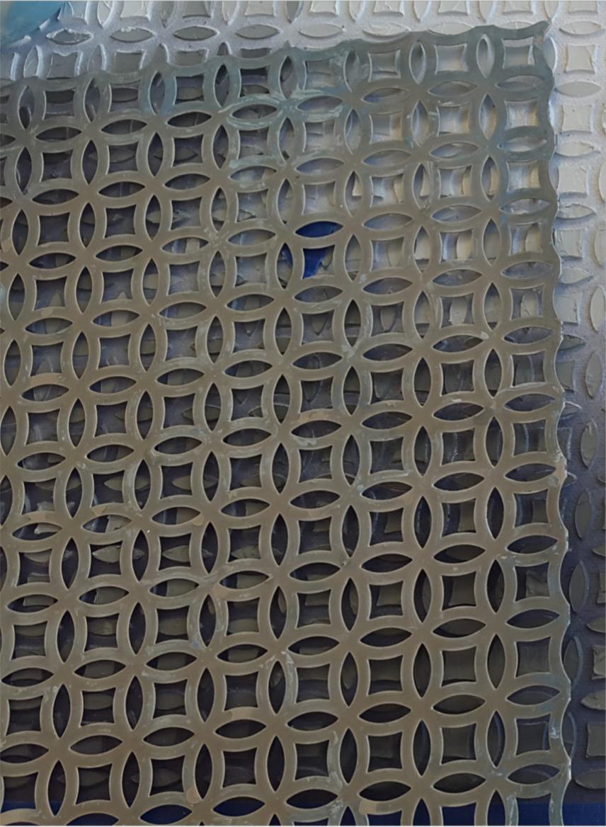 Figure 6: detail, metal sheet