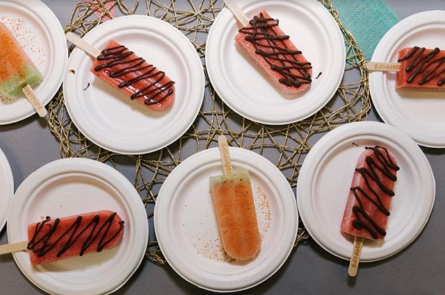 The SoCal heat we've had this summer has us daydreaming of these yummy Watermelon Kiwi + Straight up Strawberry popsicles from Buddy Pops at the 2019 Food Fare! 🍓🍉 #ThrowbackThursday