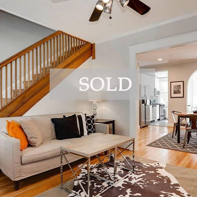 Sold! Congrats to LMG agent @homeswithallison for getting this beauty in Capitol Hill under contract after only 3 days on the market and with multiple offers on the table 🎉🎉. Allison's clients could not be happier as they did not want to leave the neighborhood they had fallen in love with while renting. As first time homebuyers, her clients could not be happier with landing their first home exactly where they wanted to stay.