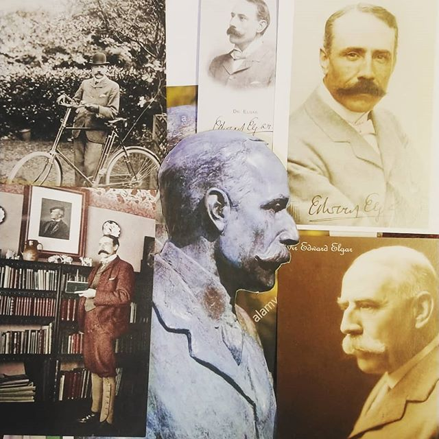 Looking forward to get going with a sculpture of this guy.. #nimrod #elgar #edwardelgar #greatmalvern #thefirs @ntthefirs @malverntheatres #sculpture #bust #faces #portraitsculptor #portrait #commissions #sculptor #malvern #thehillsarealive #malvernhills #music #classicalmusic #mostach