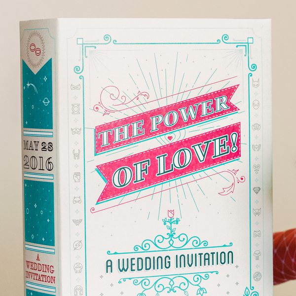 Our Wedding Invitation - Illustration, Packaging