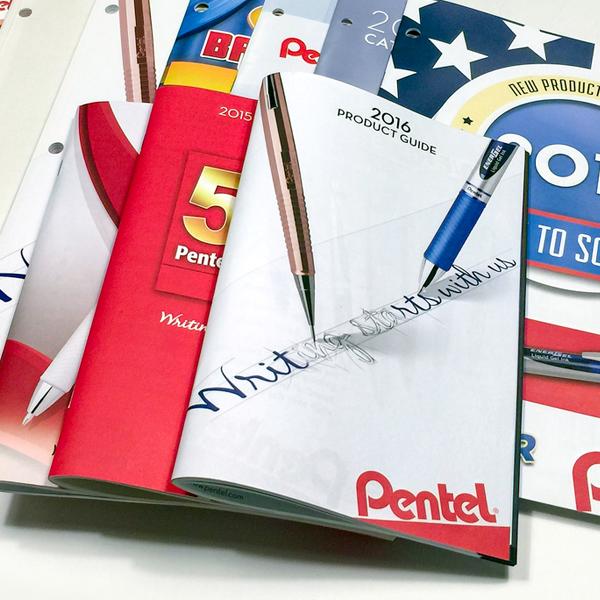 Pentel of America, Ltd. - Catalog Design