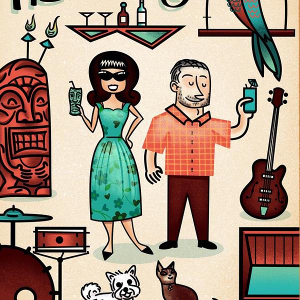 The Heximer's Family Portrait - Illustration