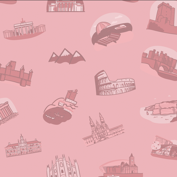 Must Do Europe - Icon Design, Illustration