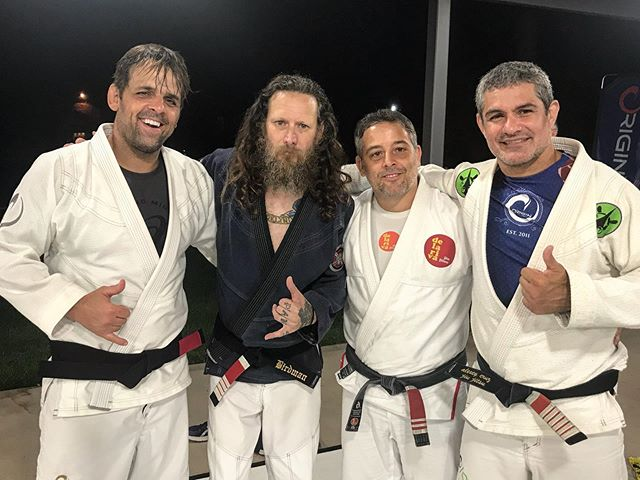 Great training with these killers. #brazilianjiujitsu #jiujitsu4life #bjjlifestyle #jiujitsulifestyle #originmaine #originimersioncamp @alexeypickerell