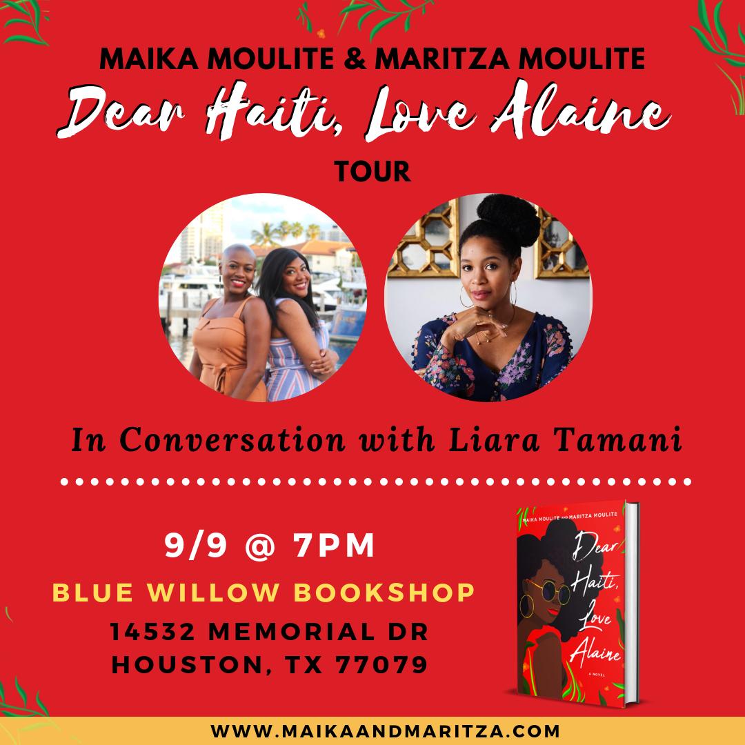 Dear Haiti, Love Alaine Book Tour: Houston, TXpng