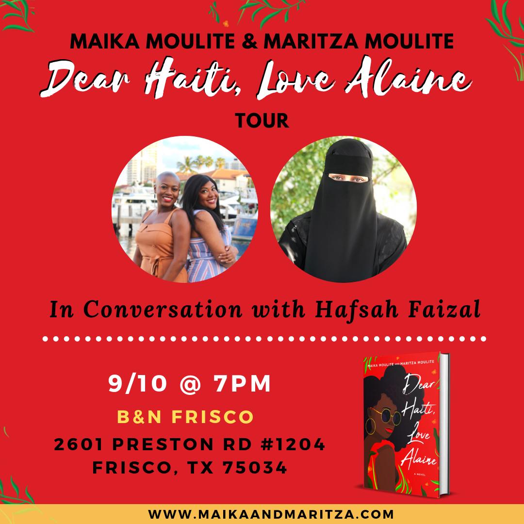 Dear Haiti, Love Alaine Book Tour: Dallas, TXpng