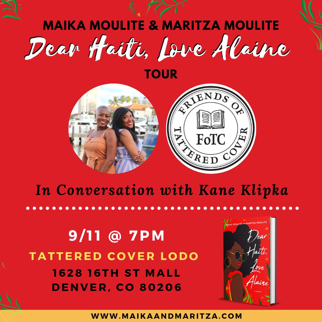 Dear Haiti, Love Alaine Book Tour: Denver, CO.png