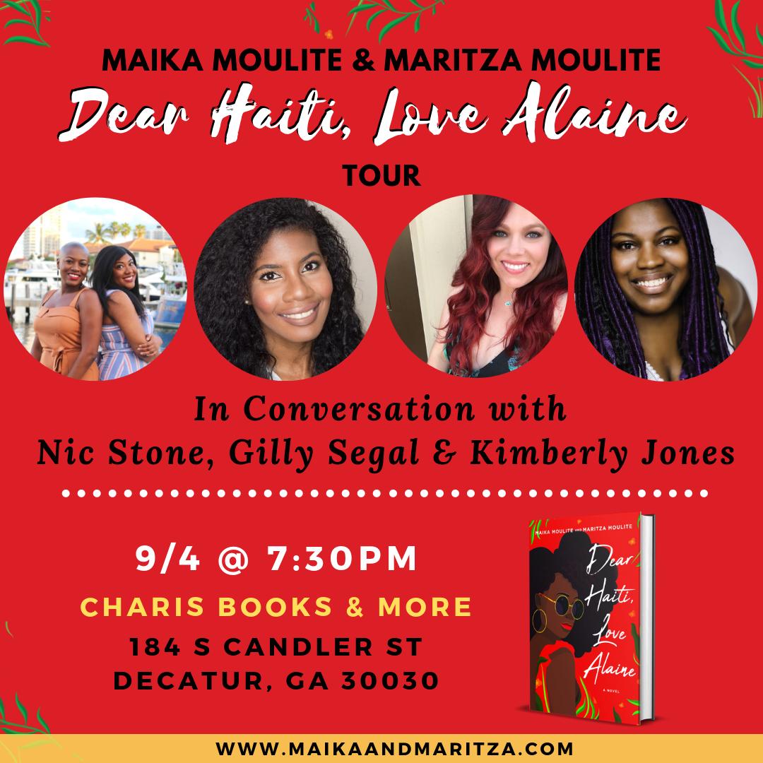 Dear Haiti, Love Alaine Book Tour: Atlanta, GA.png