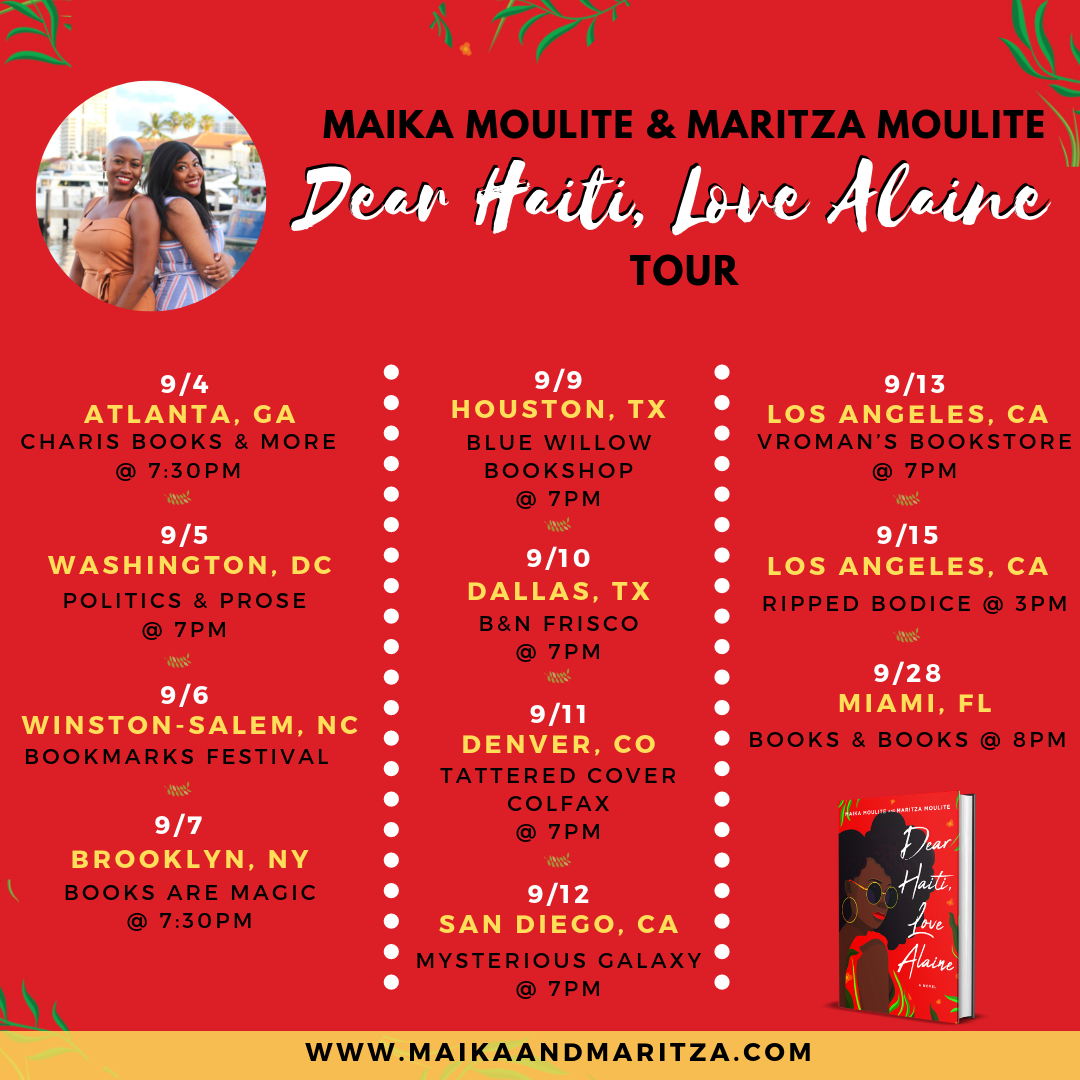 Complete Dear Haiti, Love Alaine Book Tour at a Glance.png
