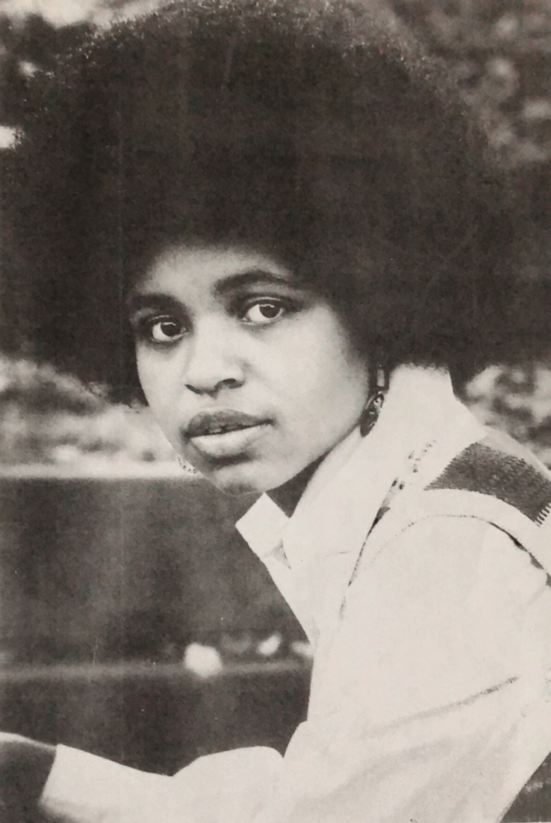Dr. Lynette Charity in her Chatham yearbook photo, 1974