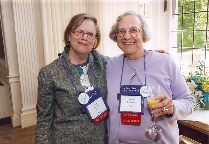 Sarah Bornstein and Ann Duffield at Chatham Reunion.jpg