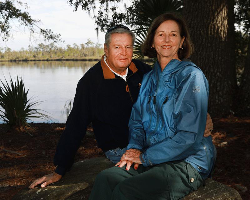 Marianne and her husband, Dick Kipper