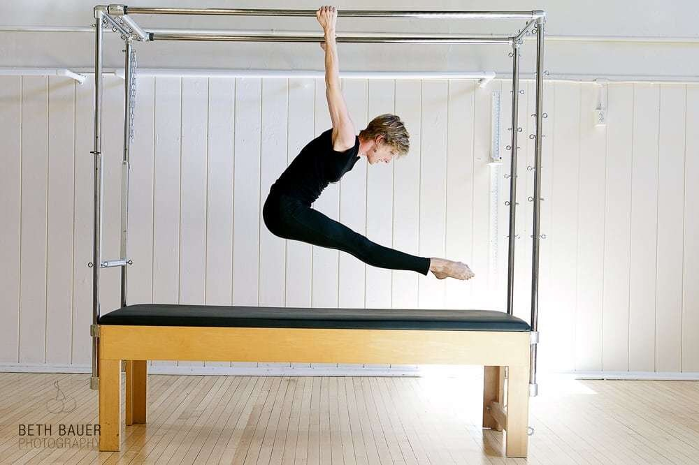 Bess co-owns Upward Spiral Studio in Cambridge, Massachusetts with two other women. At her studio, Bess teaches both Pilates and GYROTONIC exercise. And though she considers her work healing