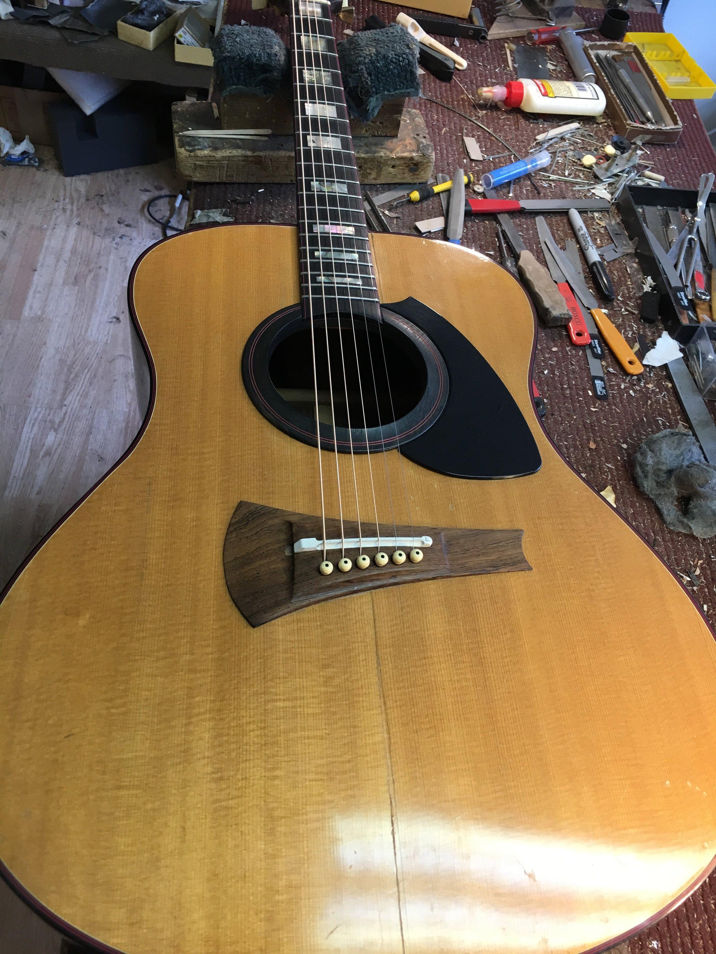 Gibson Mark-72 Crack Repair