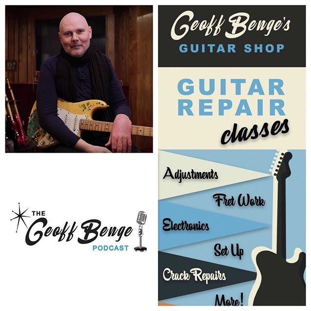 Follow the link in our bio for our latest news including the Return of the Stolen Gish Guitar, Announcing our First Podcast Guest, Geoff's Expert Tip, & our Guitar Workshop Discount!