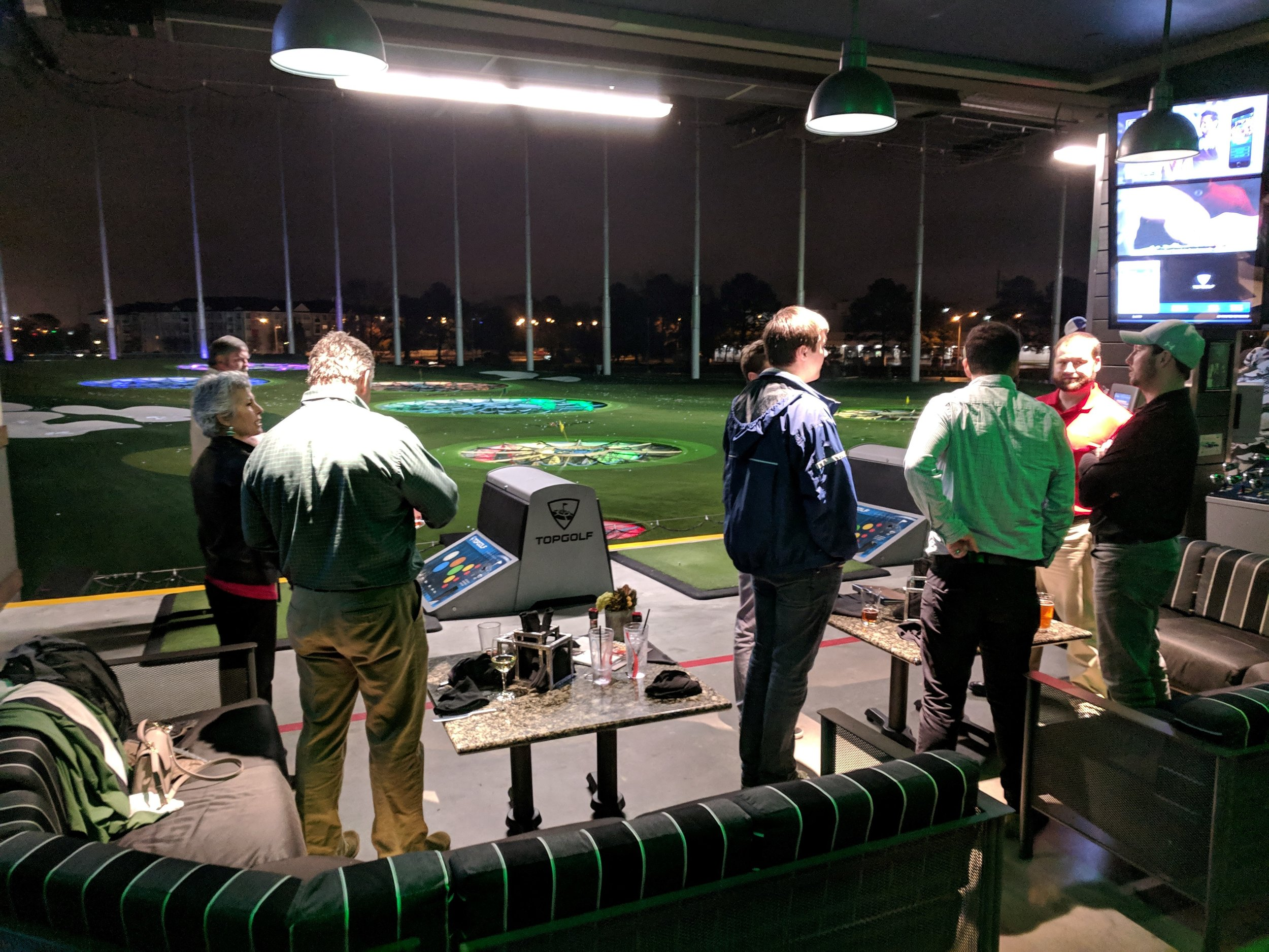 Younger Members 2018 Top Golf Happy Hour Event