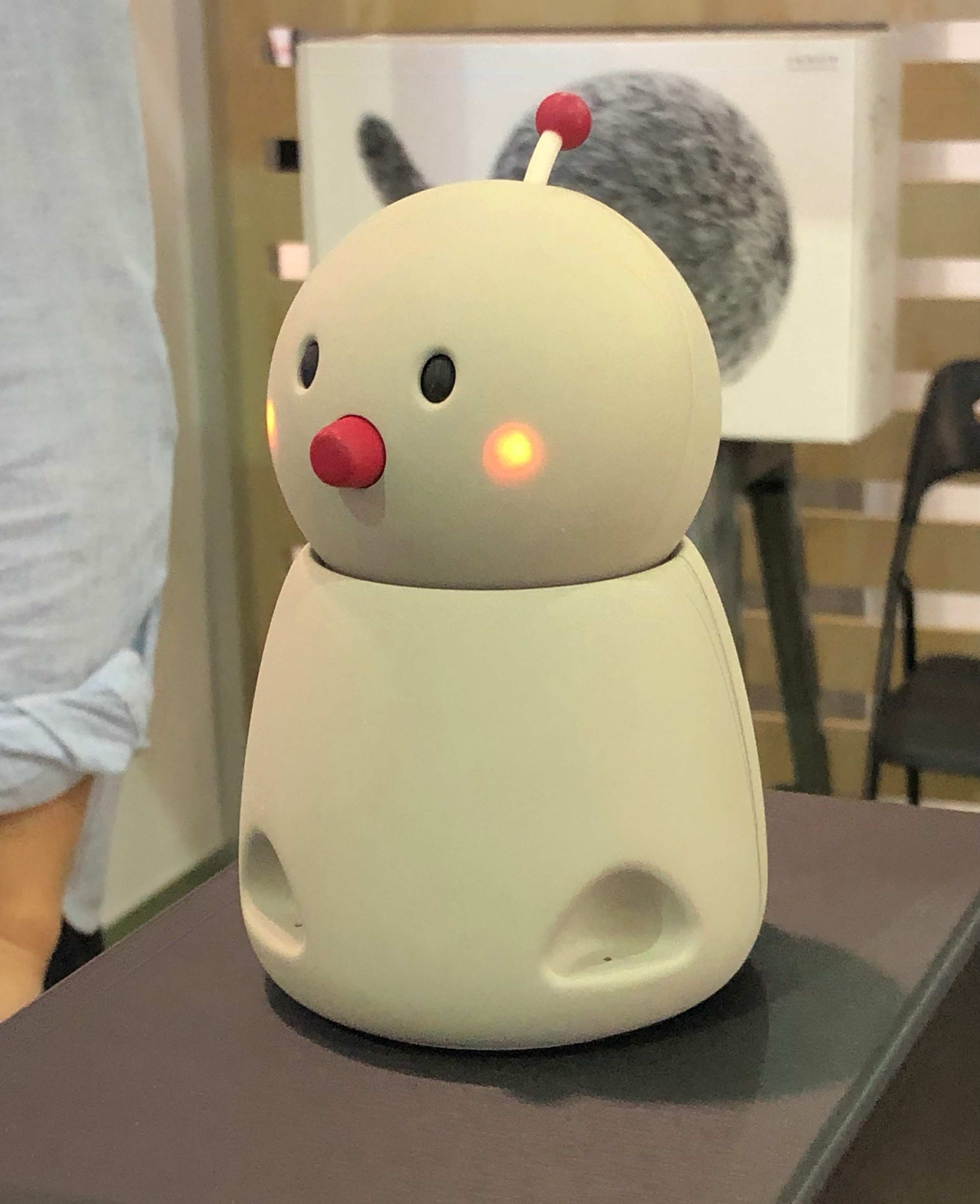 Bocco at CES 2019. Photo by: Janneke Ritchie