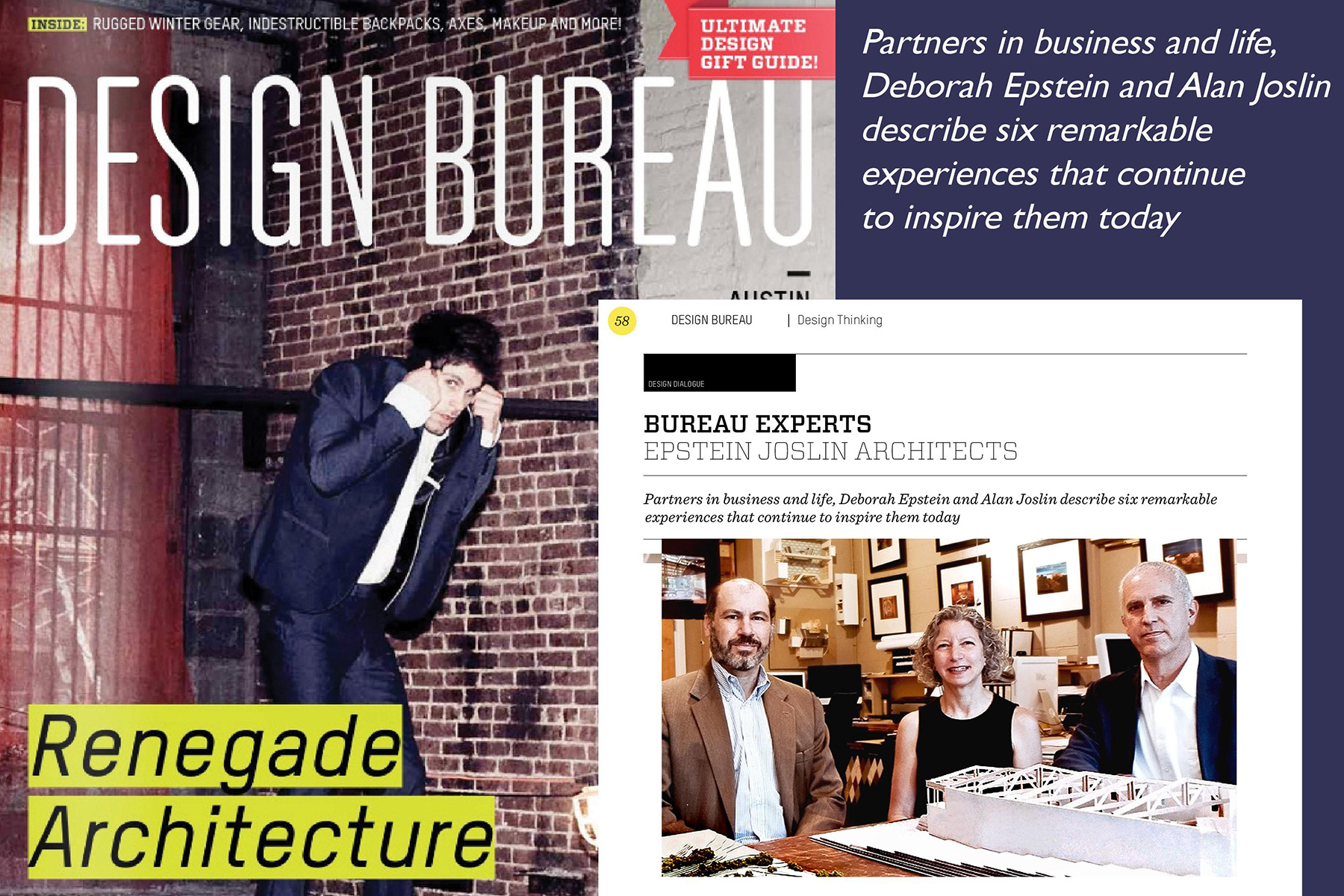 BUREAU EXPERTS: EPSTEIN JOSLIN ARCHITECTS  Design Bureau