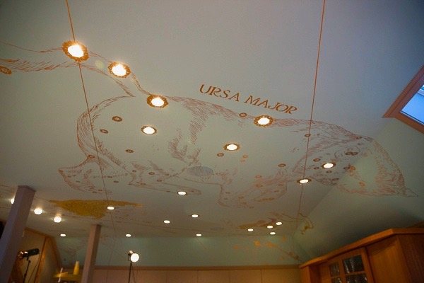 Ursa Major ceiling constellation, Seaside Estate