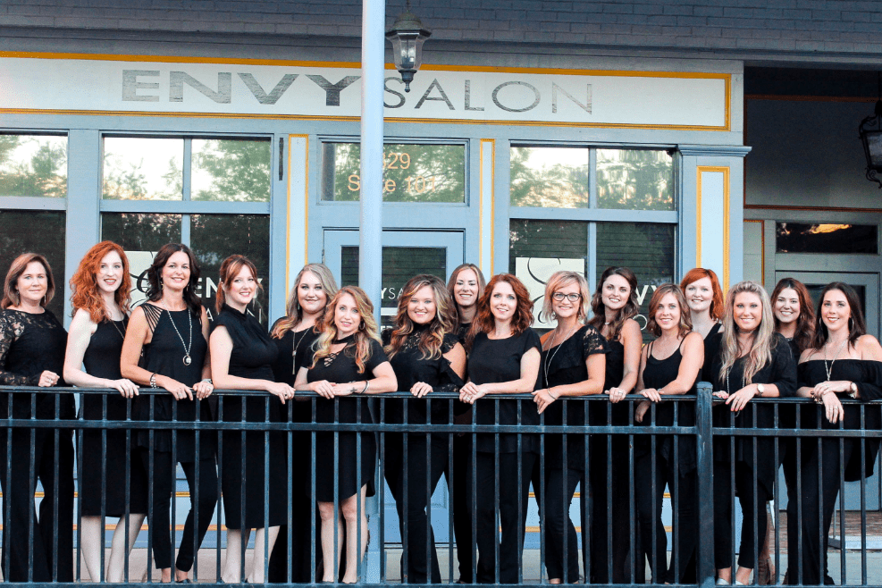 This Month's Spotlight - Envy Salon Auburn/Opelika 's owner Holly Surrency shares her own success story. She was one of the first businesses to relocate on Railroad Ave after the redemptive renovations of Downtown Opelika. Thank you for the excellence you bring to everything you do Holly!