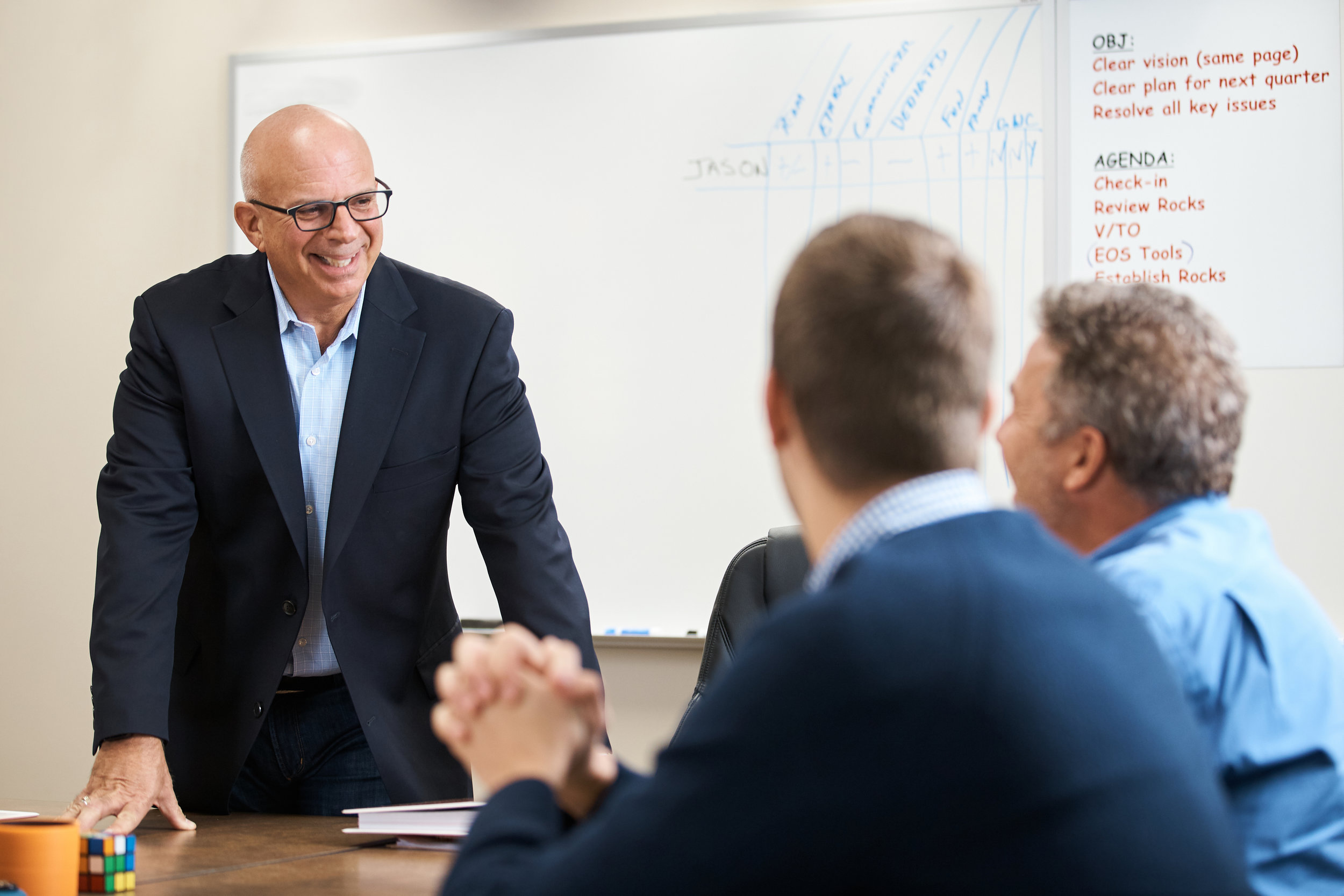PEOPLE - We define what great people are in your organization and then work to get them operating in the right seats. We cut through all the jargon, such as; A-players, superstars, top-quartile, etc. and identify who are the best people for your organization.