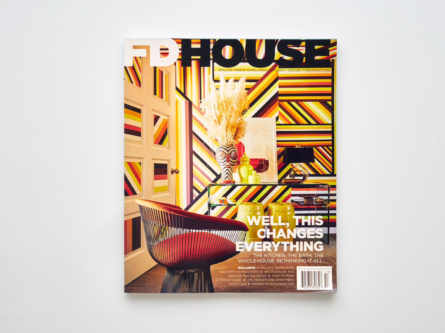 Stephen Karlisch FD House Holiday In Magazine Cover