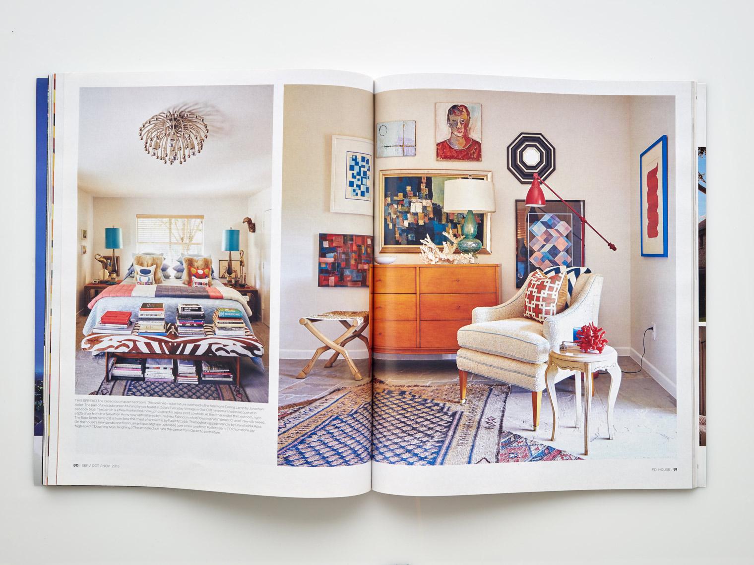 Stephen Karlisch FD House Holiday In Bedroom