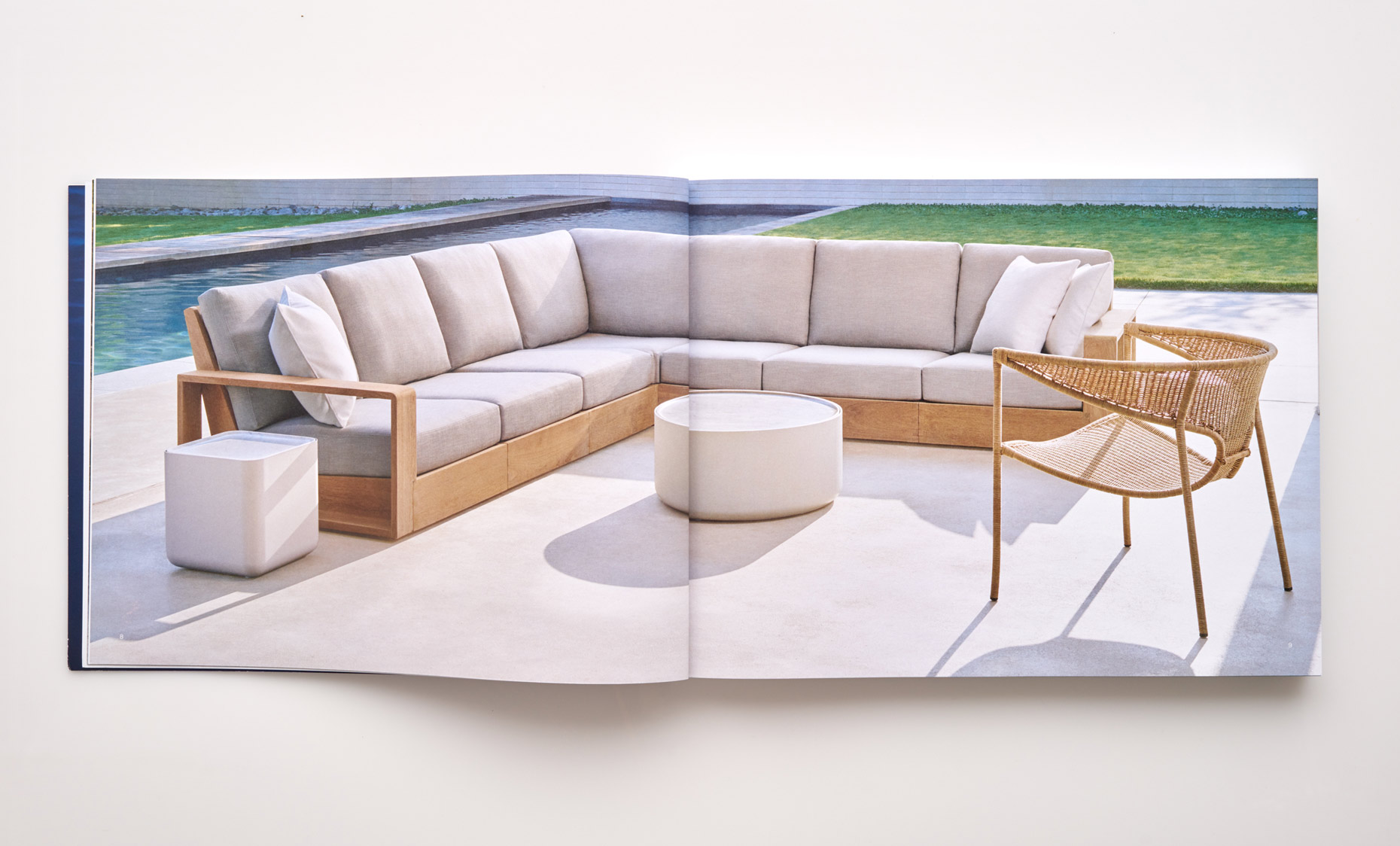 Stephen Karlisch Sutherland Furniture Franck Poolside Sectional