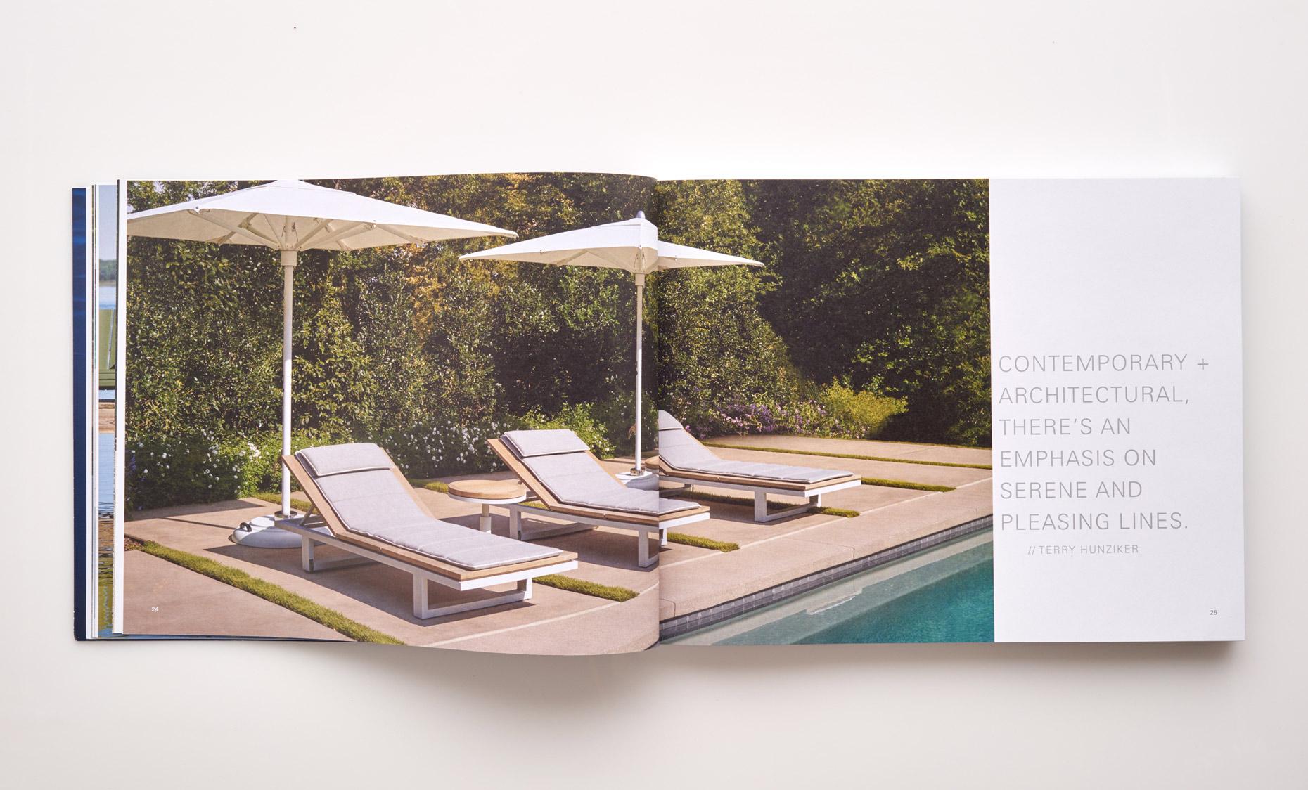 Stephen Karlisch Sutherland Furniture Peninsula Chaise Lounge