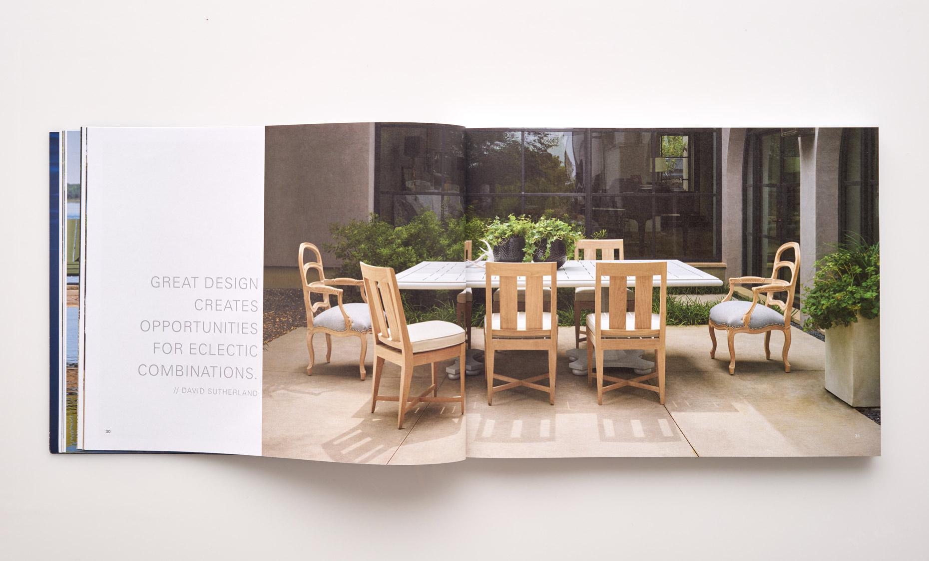 Stephen Karlisch Sutherland Furniture Versailles Dining