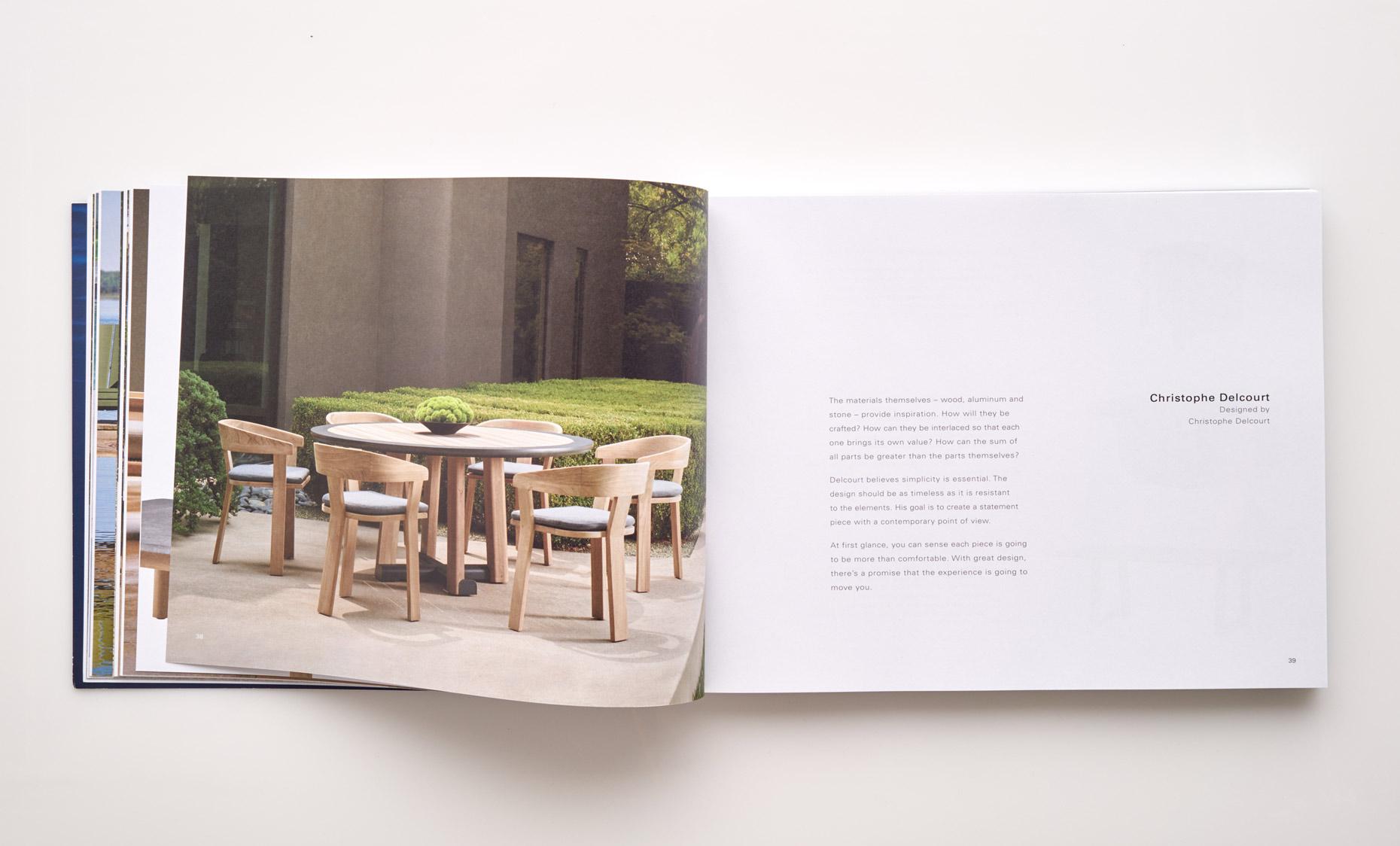 Stephen Karlisch Sutherland Furniture Mita Dining