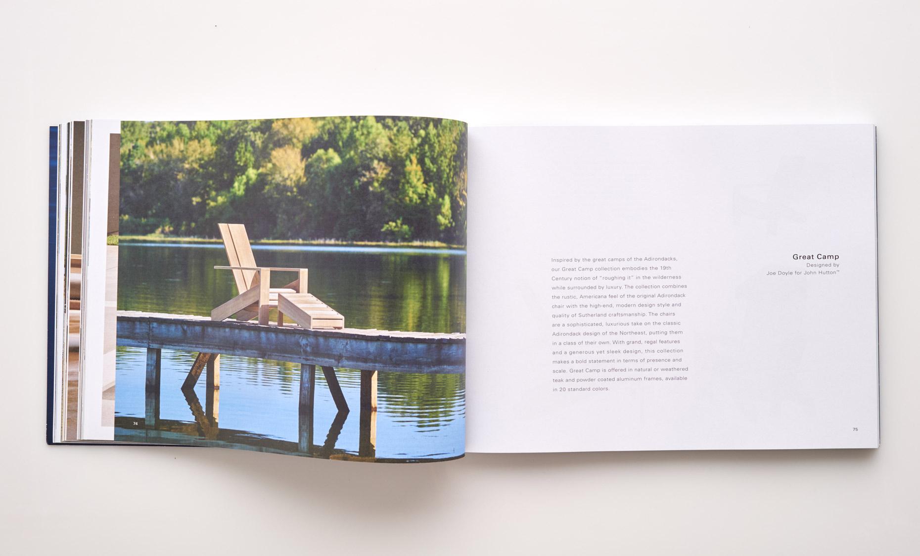 Stephen Karlisch Sutherland Furniture Great Camp Lounge