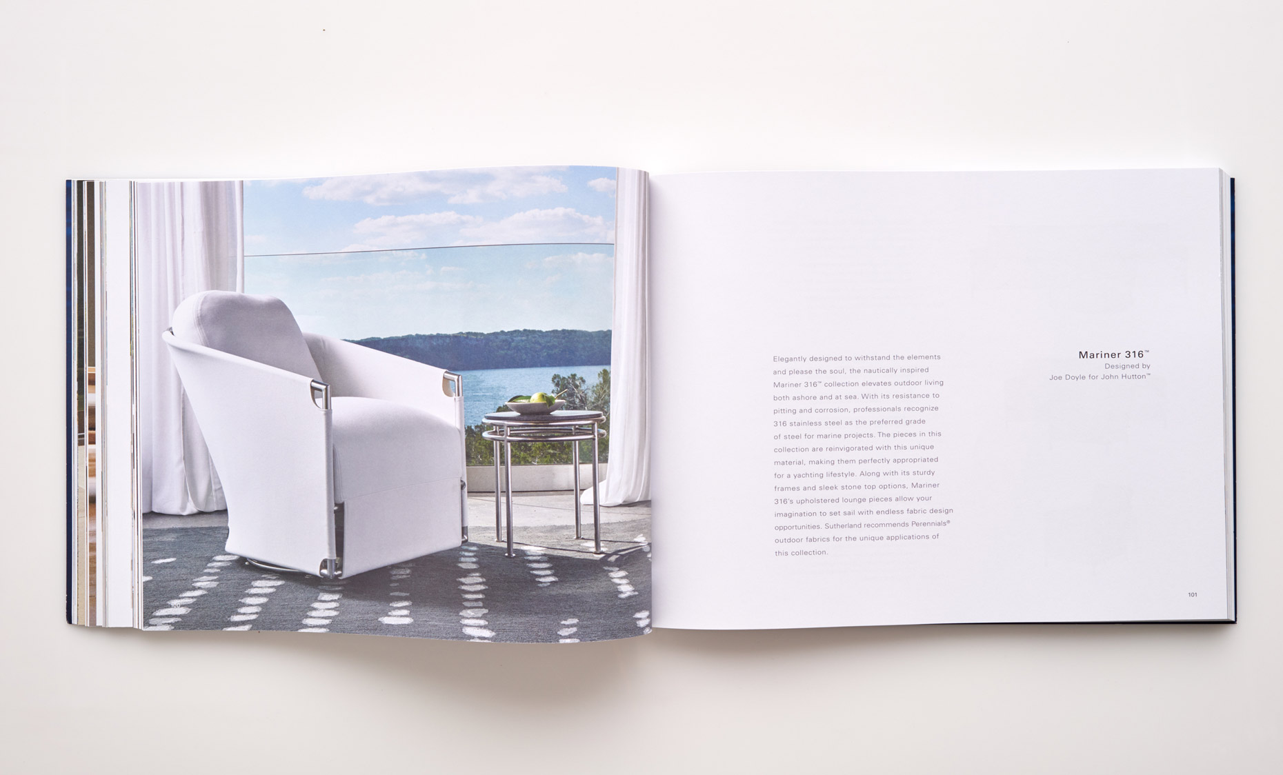 Stephen Karlisch Sutherland Furniture Mariner 316 Chair